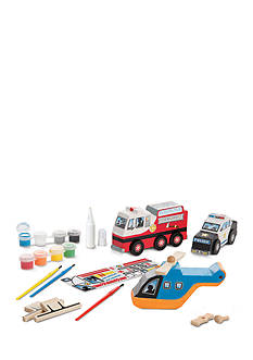 Melissa & Doug® Rescue Vehicles Set
