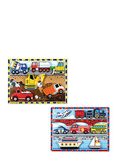 Melissa & Doug® Chunky Bundle- Vehicles & Construction