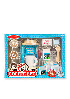 Melissa & Doug® Wooden Brew And Serve Coffee Set