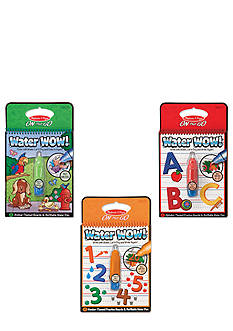 Melissa & Doug® Water Wow Bundle - Animals, Alphabet & Numbers - Online Only