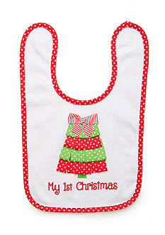 Nursery Rhyme First Christmas Tree Bib
