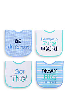 Nursery Rhyme 4-Pack Dream Bib Set