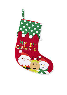 Nursery Rhyme First Christmas Stocking