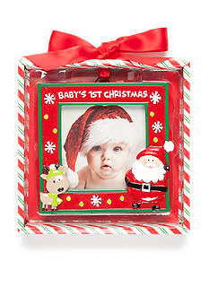 Nursery Rhyme Baby's First Christmas Frame