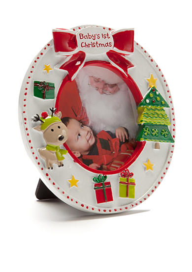 Nursery Rhyme® Baby's First Oval Frame Ornament