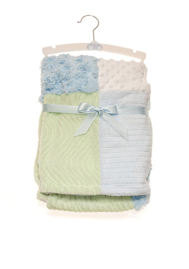 Nursery Rhyme® Blue Patchwork Blanket