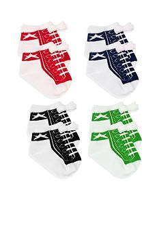 Nursery Rhyme® 4-Pack High Top Sneaker Sock Set
