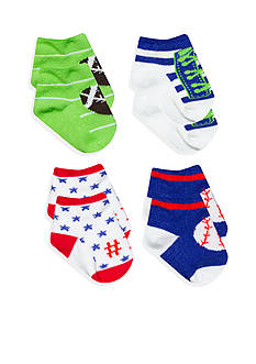 Nursery Rhyme® 4-Pack All Star Sock Set