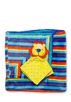 Nursery Rhyme 2-Piece Blanket and Lion Plush Toy Set