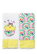 Nursery Rhyme® 2-Pack Chick-and-Floral Burp
