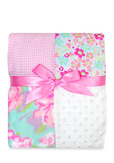 Nursery Rhyme Floral Patchwork Blanket