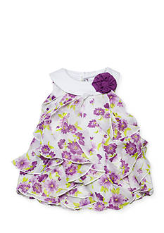 Nursery Rhyme® Sleeveless Floral Bubble Romper