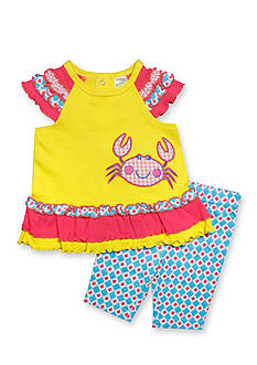 Nursery Rhyme® 2-Piece Crab Tunic and Legging Set