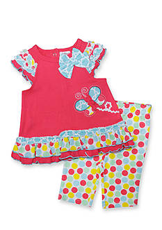 Nursery Rhyme® 2-Piece Party Dot Tunic and Leggings Set