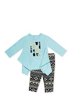 Nursery Rhyme 2-Piece 'Love' Shirt and Legging Set