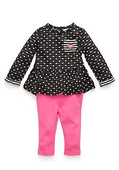 Nursery Rhyme 2-Piece Knit Top and Leggings Set