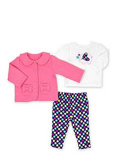 Nursery Rhyme 3-Piece Coat Set Baby/Infant Girl