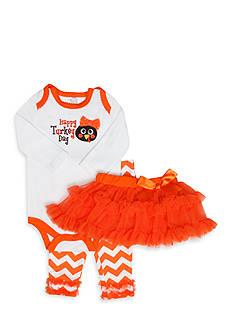 Nursery Rhyme Turkey 3-Piece Set Infant/Baby Girls