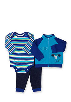 Nursery Rhyme® Blue Dog 3-Piece Set Infant/Baby Boy