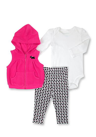 Nursery Rhyme® 3-Piece Vest Set Baby/Infant Girls