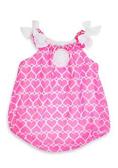 Nursery Rhyme Hearts Bubble Dress
