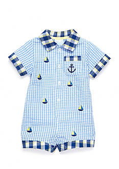 Nursery Rhyme® Gingham Romper