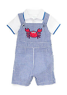 Nursery Rhyme® 2-Piece Crab Bodysuit and Shortall Set