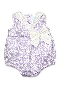 Nursery Rhyme Floral Crossover Bodysuit