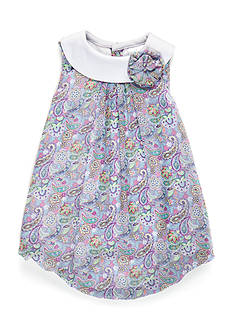 Nursery Rhyme Paisley Bubble Dress