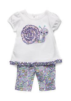 Nursery Rhyme 2-Piece Snail Pant Set
