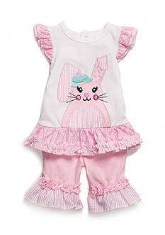 Nursery Rhyme® 2-Piece Bunny Pant Set