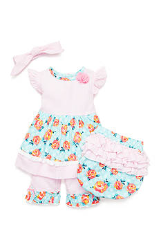 Nursery Rhyme® 4-Piece Seersucker Set