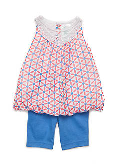 Nursery Rhyme® 2-Piece Geo Print Tunic and Legging Set