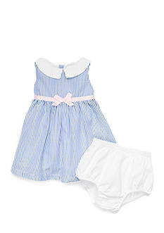 Nursery Rhyme® Peter Pan Seersucker Dress