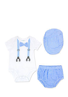 Nursery Rhyme® 3-Piece Photo Op Bodysuit, Hat and Bloomer Set
