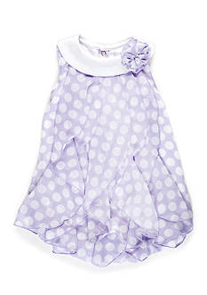 Nursery Rhyme Dotted Bubble Dress