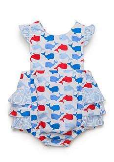 Nursery Rhyme Whale Sunsuit