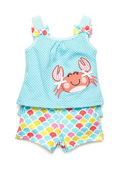 Nursery Rhyme 2-Piece Crab Short Set