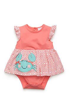Nursery Rhyme One-Piece Crab Bodysuit Dress