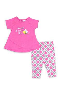 Nursery Rhyme 2-Piece 'Sweet Bee' Shirt and Capri Set