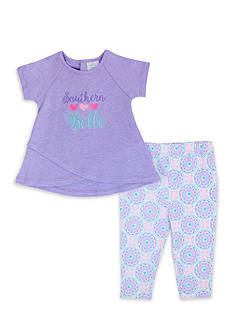 Nursery Rhyme® 2-Piece 'Southern Belle' Shirt and Pant Set