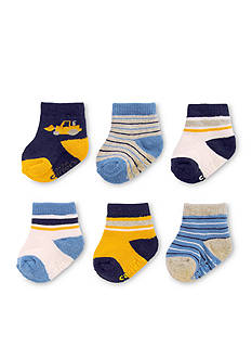 Carter's® 6-Pack Crew Truck Socks