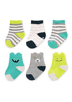 Carter's® 6-Pack Crew Puppet Socks