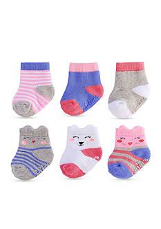 Carter's 6-Pack Crew Puppet Socks