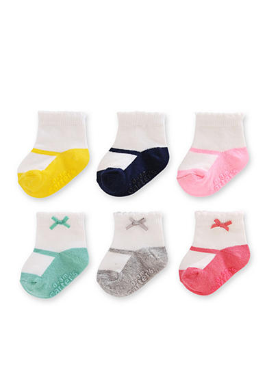 Carter's® Baby Socks Girls 0-3 Months - 6 Pack