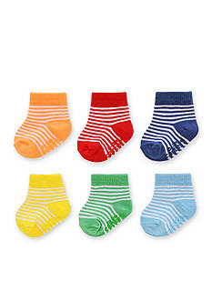 Carter's® Baby Rainbow Stripe Socks 0-3m - 6 Pack