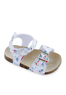 Carter's Floral Double Velcro Sandal