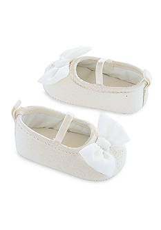 Carter's Ivory Glitter Mary Jane Shoes