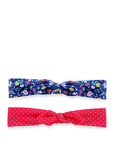 Carter's 2-Pack Floral Bow Headwrap
