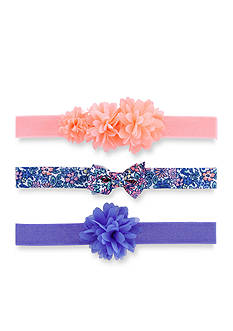Carter's 3-Pack Multi Plumes Headwraps